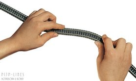 Flexibele rails 777mm