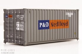 "20'ft container ""P&O Nedlloyd"""