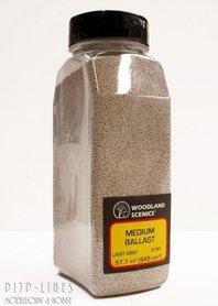 Woodland Scenics Medium Ballast Shaker Light Gray