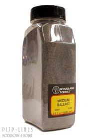 Woodland Scenics Medium Ballast Shaker Gray