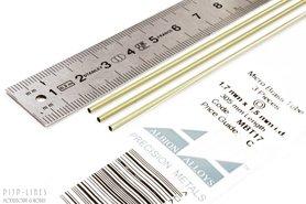Micro Messing buis. 1.7mm x 0.1mm x 1.5mm