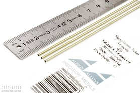 Micro Messing buis. 1.6mm x 0.1mm x 1.4mm