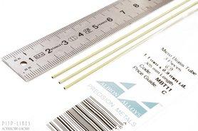 Micro Messing buis. 1.1mm x 0.1mm x 0.9mm