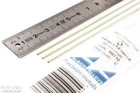 Micro Messing buis. 1.0mm x 0.1mm x 0.8mm