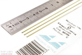 Micro Messing buis. 0.9mm x 0.1mm x 0.7mm