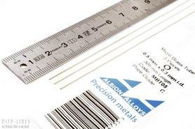 Micro Messing buis. 0.5mm x 0.1mm x 0.3mm