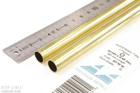 Messing buis 10.0mm x 0.45mm x 9.1mm