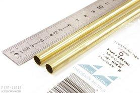 Messing buis 8.0mm x 0.45mm x 7.1mm