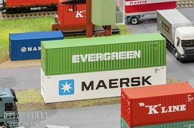 "40"" Hi-Cube Container ""Evergreen"""