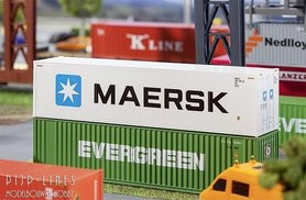 "40"" Hi-Cube Container ""Maersk"""