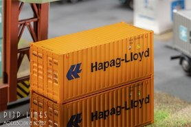 "20'ft container ""Hapag-Lloyd"""