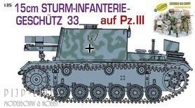 Sturm Infanteriegeschütz 33 auf Pz. III + German 6th Army