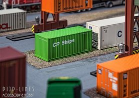 "20'ft container ""CP Ships"""
