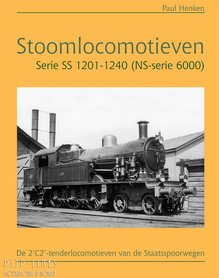 Stoomlocomotieven Serie SS 1201-1240 (NS-serie 6000)