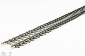 Flexrails met betonnen dwarsliggers 940mm