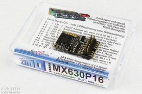 """ZIMO """"MX630P16"""" Digitaal decoder PluX16"""