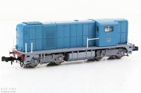 """NS diesellocomotief NS 2400 blauw Digitaal Sound """"2412"""""""