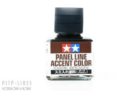 Panel Line (Dark Brown)