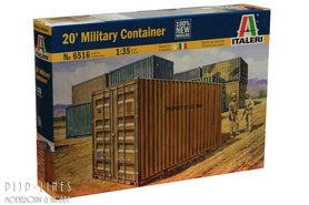 20'F militaire container