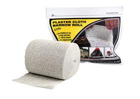 Plaster Cloth Narrow Roll (Gips mat op rol)