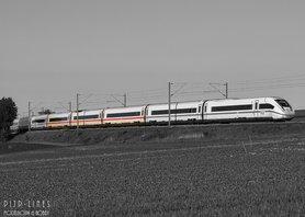 DB-AG ICE 4 tussen rijtuigen 1e/2e klas