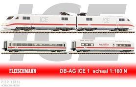 DB ICE 1 basis set 4-delig DCC Digitaal