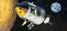Apollo 11 Spacecraft whit Interior