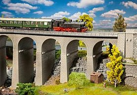 Viaduct set, 2-sporig,