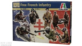 FREE FRENCH INFANTRY