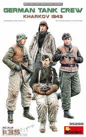 """Duitse tank crew """"Kharkov 1943"""""""
