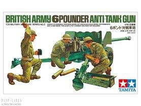 British Army 6 Pounder Anti-Tank Gun