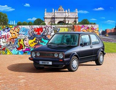 35 Years VW Golf 1 GTI Pirell