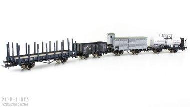 NL - NCS SS NBDS HSM goederenwagen set