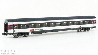 SBB 2e klas sneltreinrijtuig ICN