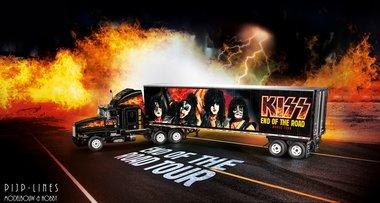 KISS Tour Truck