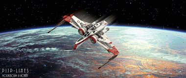 Star Wars ARC-170 Fighter