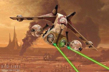 Star Wars Republic Gunship