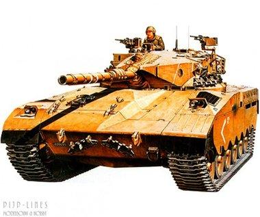 Isreali MBT Merkava