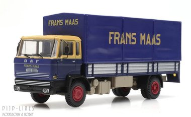 DAF kantelcabine huifopbouw Frans Maas. Anno 1970