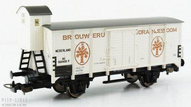 NS gesloten wagon met remmershuis