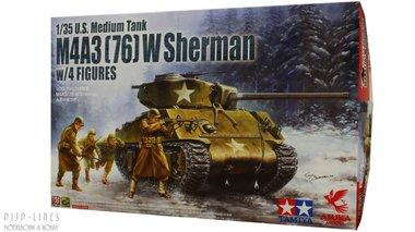 U.S. M4A3 (76) W Sherman + figuren