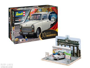 Trabant Set + 3D Puzzel diorama