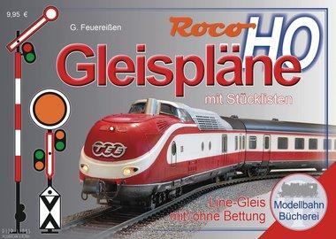 Roco Line met bedding railplan boek H0