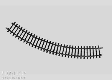 Marklin K-rails Gebogen railstuk
