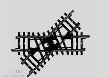 Marklin K-rails Kruising