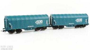 B Cargo staalwagen set type Shimmns