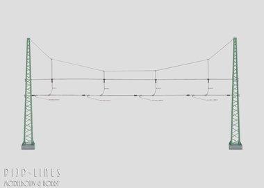 Marklin Dwarsverbinding voor 4 sporen
