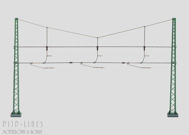 Marklin Dwarsverbinding voor 3 sporen