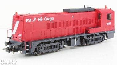 NS Cargo diesellocomotief 2384 AC digitaal