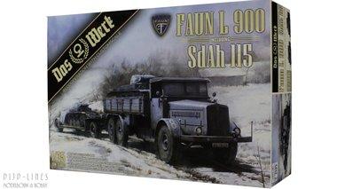Faun L 900 met Sdah 115
